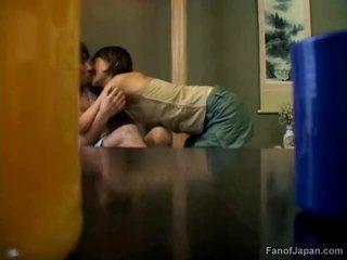 ideaal japanse tube, plezier kut likken klem, lesbo porno