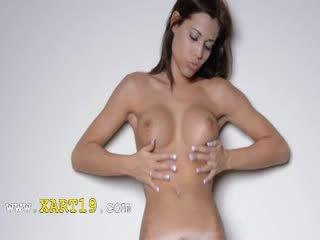 groot rukken video-, alle dans, nieuw tittyjob