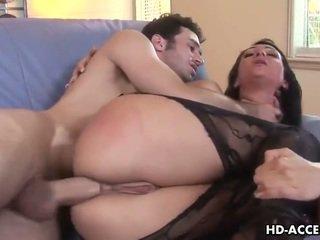 Sexy vrouw victoria sinn geneukt binnenin de bips