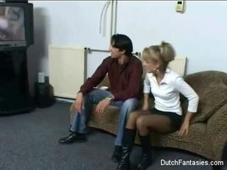Dutch Couch Sex Long