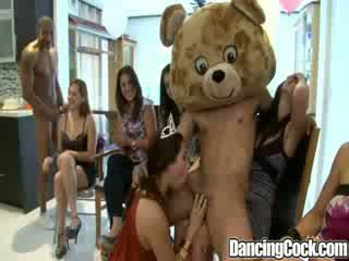 Dancingcock Fat Cock Blowjob Party