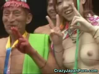 Jepang in a papuan tribe!