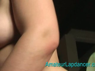 Blonde BBW lapdancing Video
