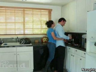 बड़ा titted ब्लोंड tasha reign acquires उसकी pal husbands oustanding sausage