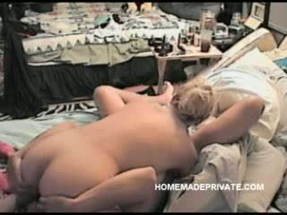 Cheating blonde wife