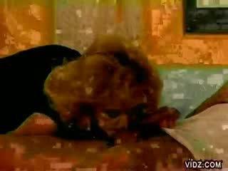 blondie Hooker crawls on sleeping stud