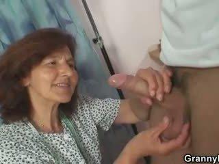 een doggystyle gepost, heet oud klem, zien grootmoeder neuken