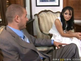 A bride gets fucked by unknown guest