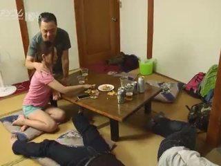 日本の, なめること, スワッピング