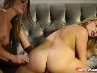 skupinový sex, trojica, pornohviezdami