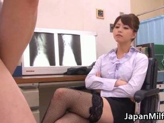 japānas, austrumu iedzīvotājs, ārsts