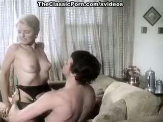 Juliet anderson, ron hudd 에 뜨거운 80's 포르노를 비디오 와 double penetration