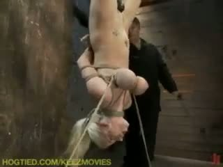mučení, excentrický, svázaný