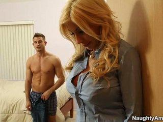 Big titted blondinka puma swede finds comfort in companion boyfriends meat stick