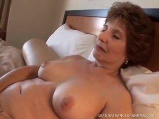 Elder Grandma Amy Lynn Wishes Huge Dong