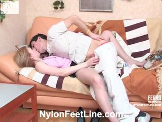 Isabela en vitas panty footsex video-