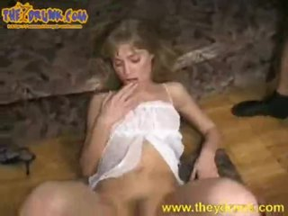 Drunk Girl Taking two Cocks