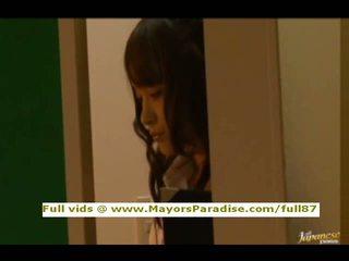 Mihiro no idol69 aziāti pusaudze brunete gets licked