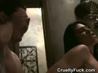 Women Suck Dick And Fucked At Reverse Gangbang