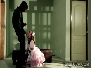 Stud seduces sweet innocent stepdaugher Kennedy Leigh
