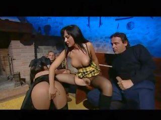 heet orale seks thumbnail, heetste dubbele penetratie, groepsseks actie