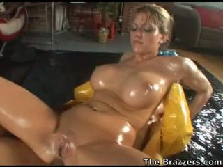 Eve Lawrence Oiled Anal