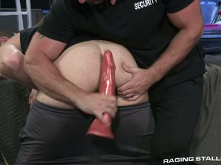 Petty Dildo Thief Gets Ravaged In The Ass By Security Guard