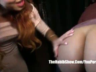 Sexshop Fuckfest Asian Kimberly Chi Fuck Freak Thick Black Booty Video