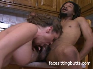 Busty Mommy Fucking in the Kitchen, Free Porn cf