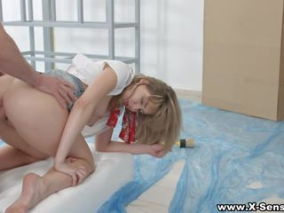 X-sensual - Ass to Mouth Cum Painting, HD Porn 73