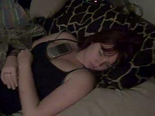 zien cumshot, sleep, amateur scène