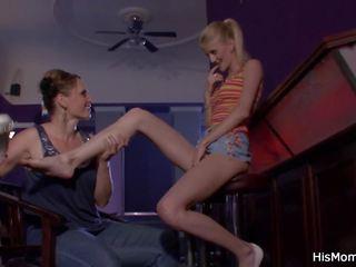 zien tieners video-, seksspeeltjes tube, ideaal lesbiennes kanaal