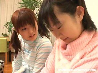 japanese, tongue, lesbian