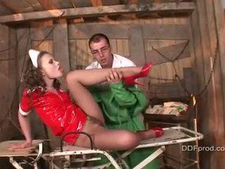 mooi verpleegkundigen porno, mooi lange benen actie, mooi pornosterren vid