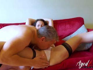 matures, nominale oude + young seks, masturbatie seks