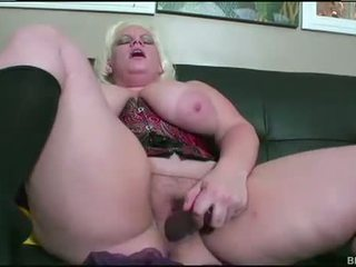 BBW Blonde Fucked