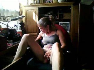 Becca masturbates and gushes