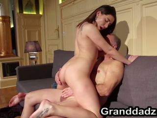 Firm Bodied Teen Ally Fucking Old Guy Rolando: Free Porn f7