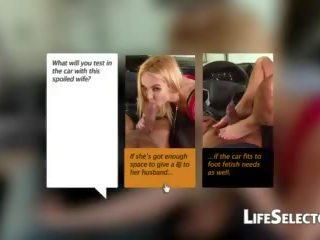 Cocky mqmf aaliyah amor gives un mamada en su coche