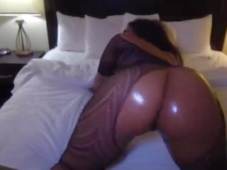 big butt black ghetto freak get rammed by BBC
