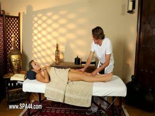 Huono babes perseestä kova sisään erityinen masseur