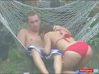 Brother Films Sister Fuck In Back Yard