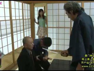 Japanese big wife horny gangbang 8