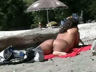 nieuw voyeur vid, nominale strand, gratis buitenshuis video-