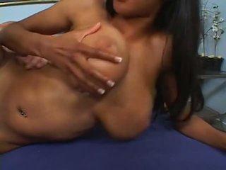 Busty Ebony Tyra gets a White Big Dick, Porn 81