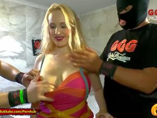 Extreme Piss Lover Angel Wicky gets her Big Tits wet