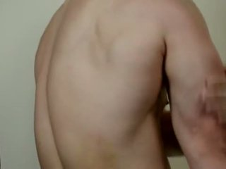 College Jock Oils Up and Gets Off