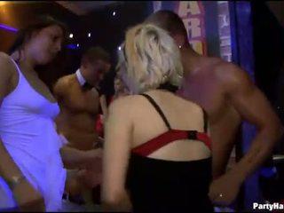 Waiter fucking one kissing other
