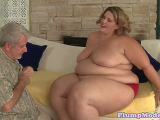 Vet bbw banged in missionaris positie, hd porno 69