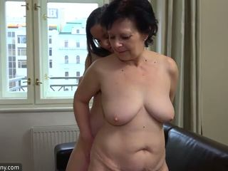 fun lesbians vid, nice matures clip, all old+young